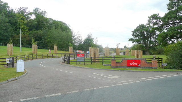 Entrance to Hartpury Equine