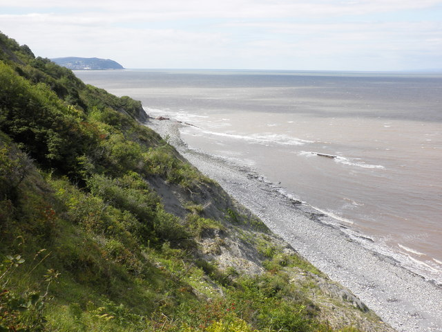 Coastal slopes, west of Watchet