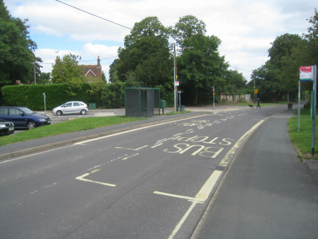 Village bus stops - Oakley Lane