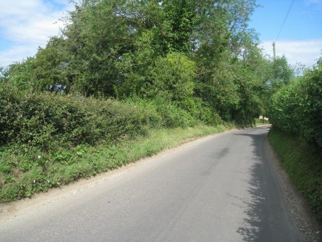 Country lane near Oakley