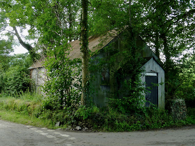 Former schoolroom near Pont Gogoyan, Ceredigion