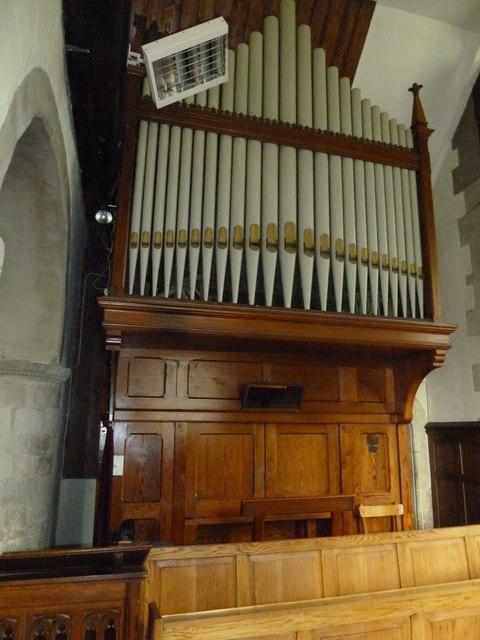 All Saints, Upper Clatford: organ