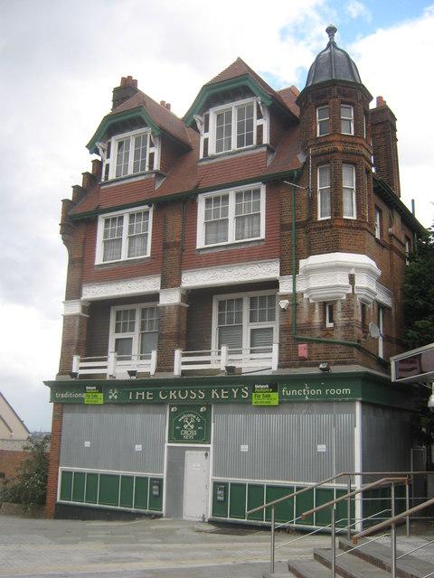 The (closed) Cross Keys, Public house, Erith