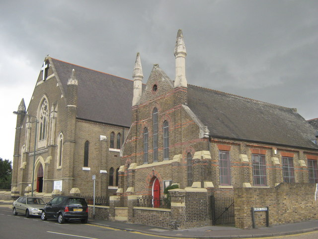 Queen Street Baptist Church and Church Hall