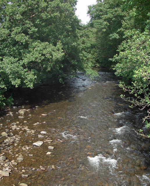 The River Ogmore at Sarn