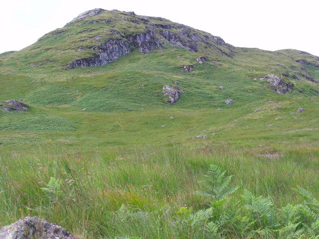 Rough ground by branch of Strone Burn near Loch Katrine