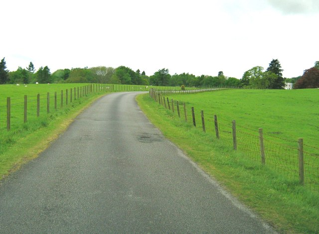 The driveway through Lessons Park