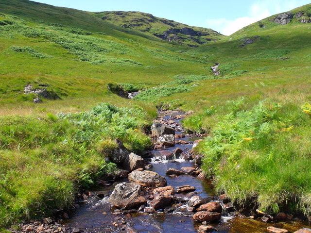 North-east slopes of Meall Mor near Loch Katrine