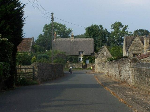 Lane From Warkton Church