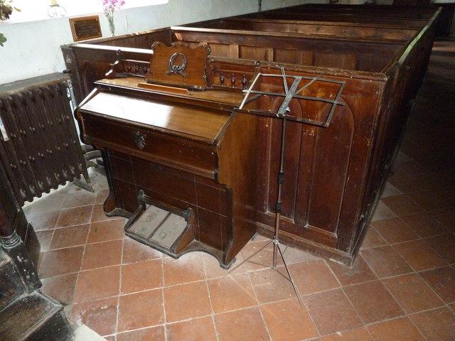St Nicholas, Leckford: organ