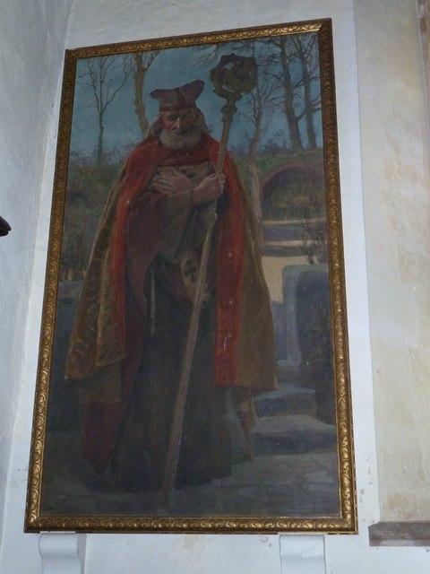 St Nicholas, Leckford: artwork