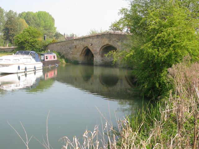 Radcot Bridge from the SW