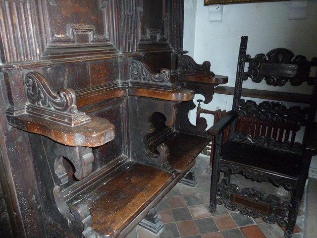 St Nicholas, Leckford: seats