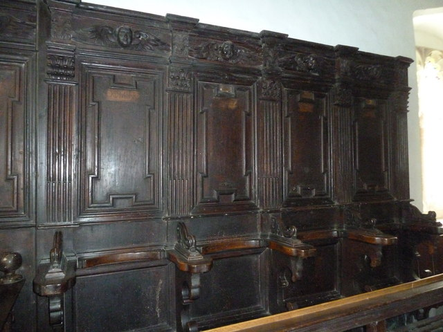 St Nicholas, Leckford: misericords