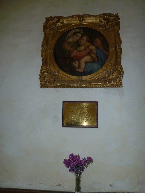 St Nicholas, Leckford: Madonna and Child
