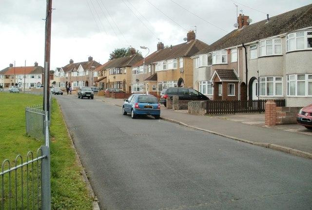Royston Crescent houses, Newport