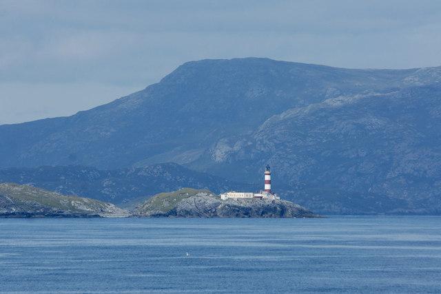 Eilean Glas lighthouse, Scalpay