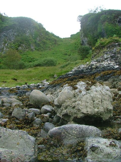 Small Re-entrant below Ganavan Hill