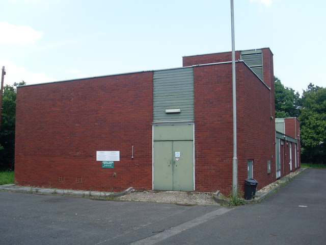 Cadnam Telephone Exchange, Hants