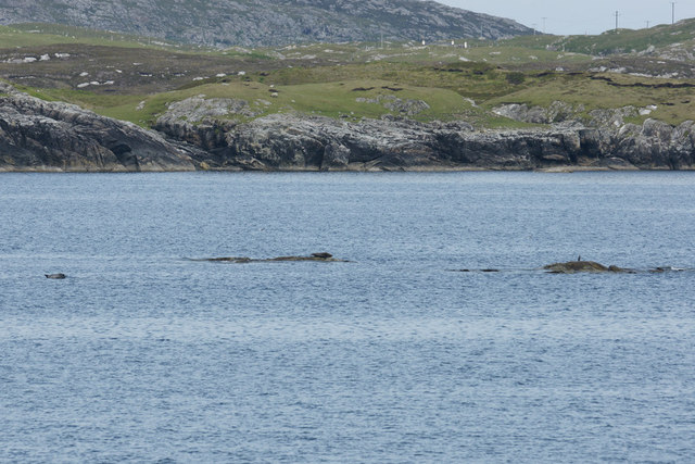 Un-named skerry in Bràigh Mòr, Harris