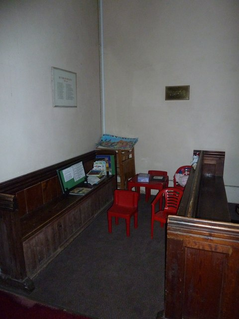 Monxton - St Mary's: children's area