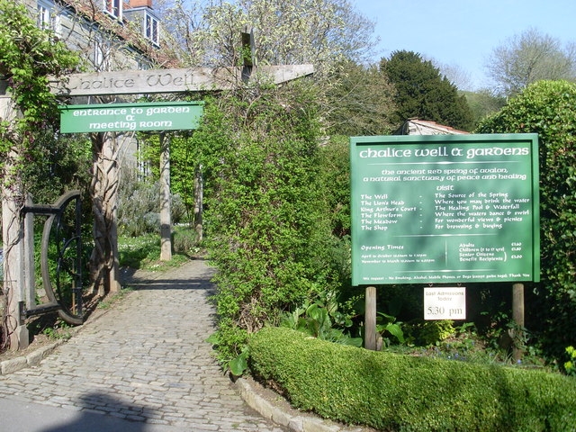 Entrance to the Chalice Well and Garden, Glastonbury