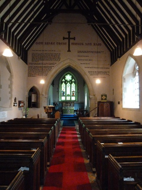 Monxton - St Mary: nave