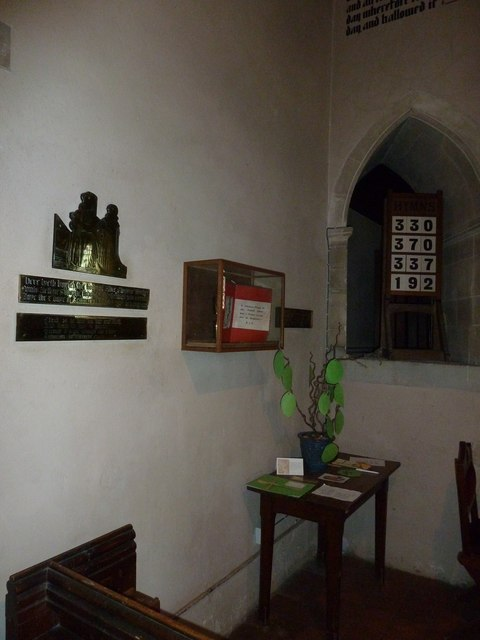 A quiet corner within St Mary, Monxton