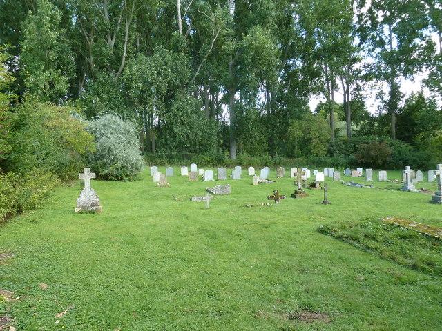 Monxton - St Mary: gravestones