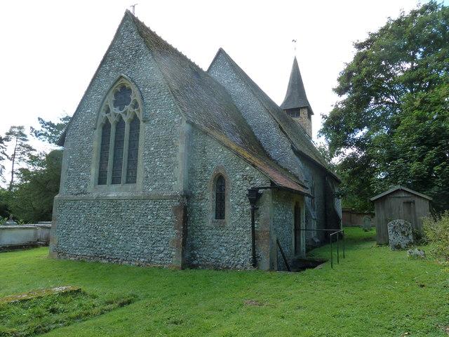 Monxton - St Mary: eastern aspect