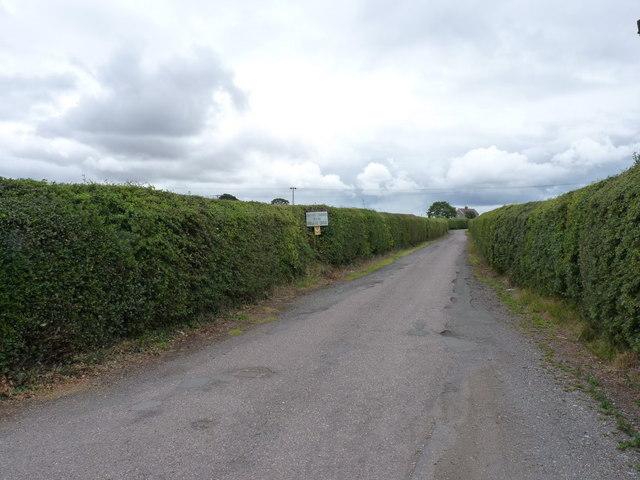Access to Betton Abbots Farm
