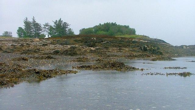Shoreline near Ardentiny