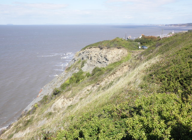 Cliffs, west of Watchet harbour