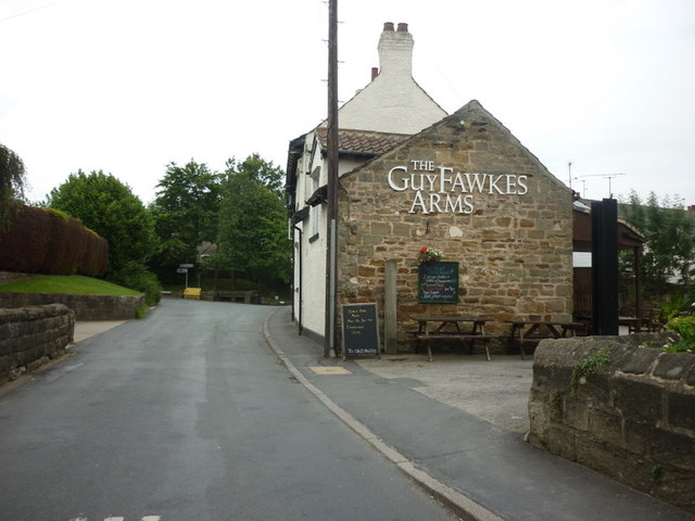 The Guy Fawkes Arms, Scotton