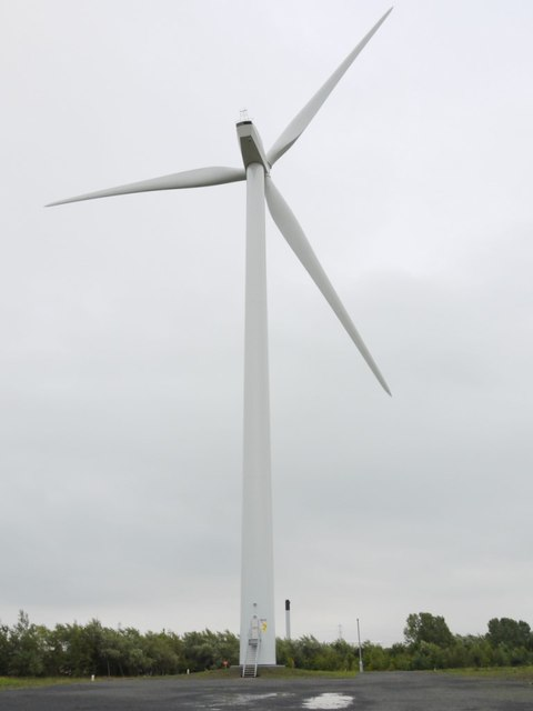Wind turbine, Windmill Industrial Estate