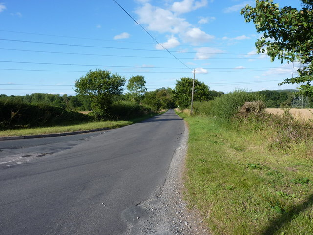 The road to Patshull