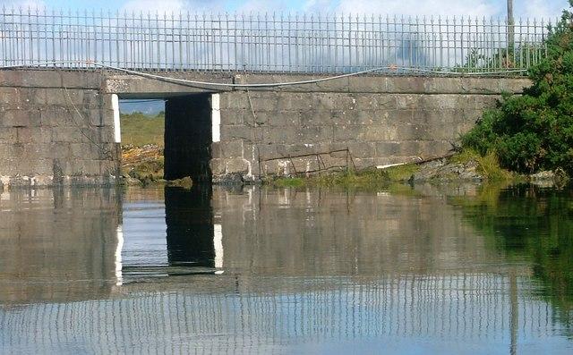 Underpass under Eriska Causeway