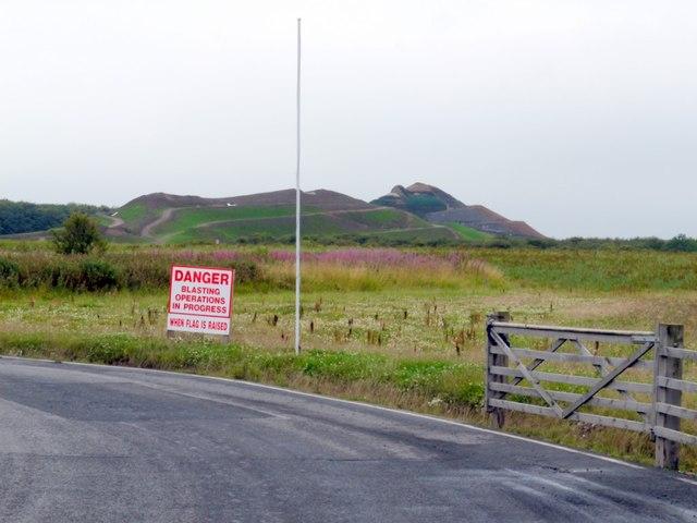 'Northumberlandia' (under construction)