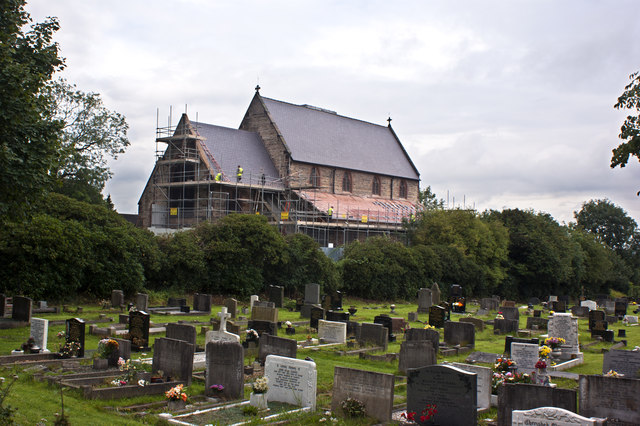 Roofing repairs at St Hilda's Church