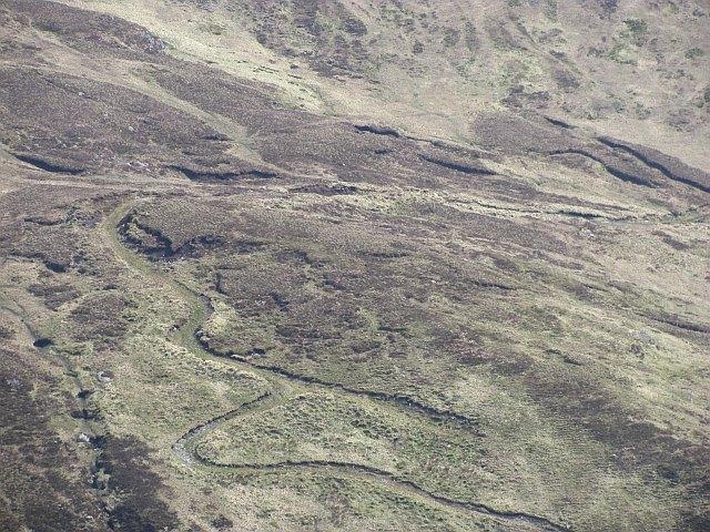 Track on Stob an Lochain