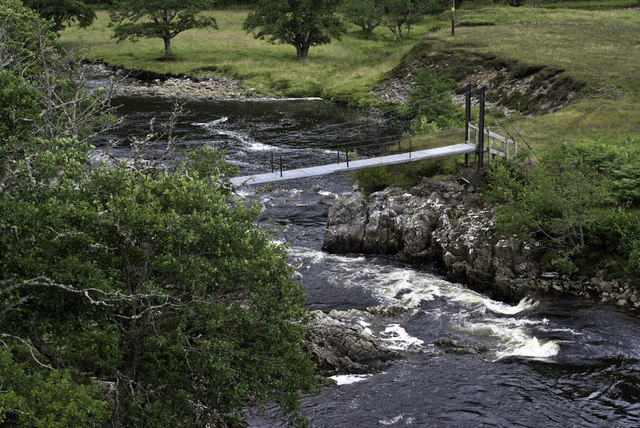 Footbridge on the Meig