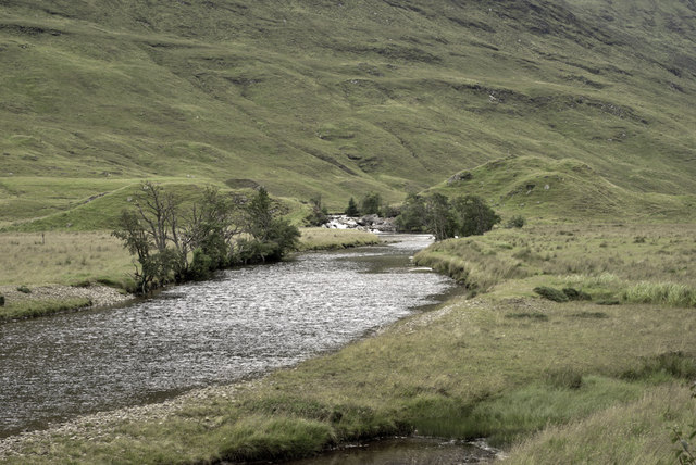 River Meig by Scardroy