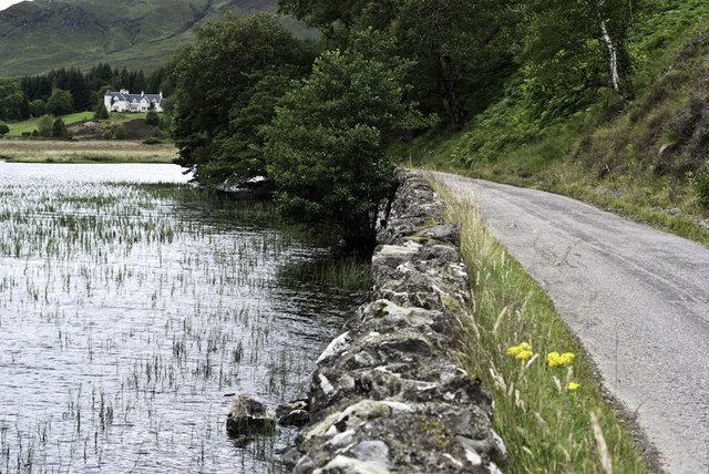 Road and Loch