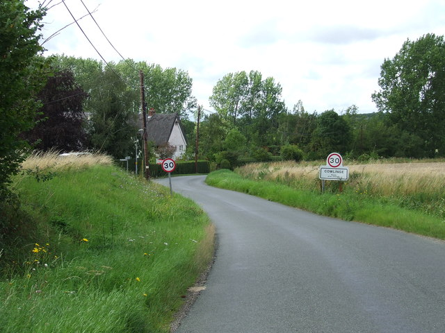 Entering Cowlinge