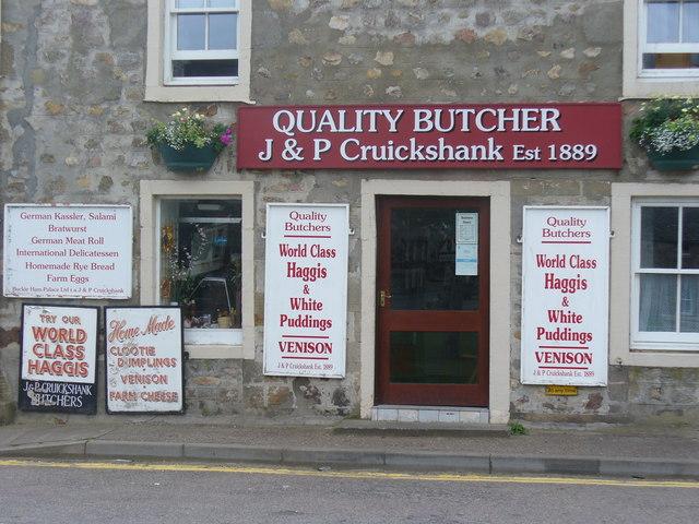 Quality Butcher, Fochabers