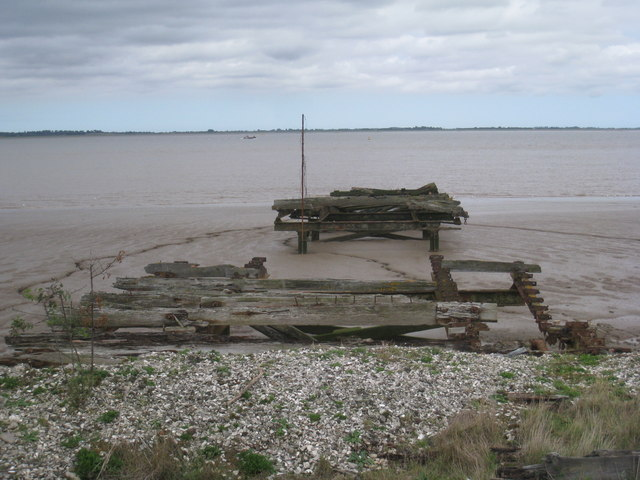 Remains of flying boat jetty