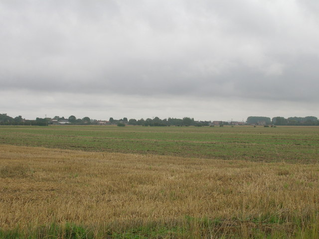 Farmland south of Reedness