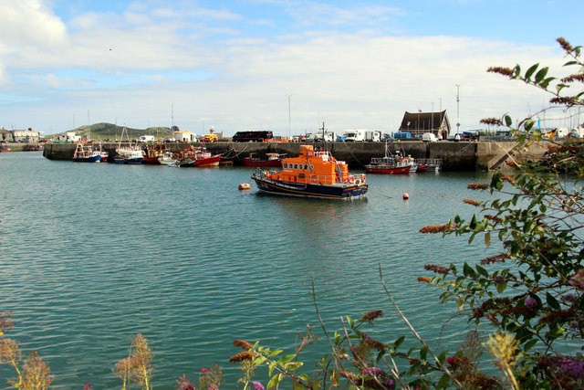 Lifeboat, Howth Harbour, Ireland