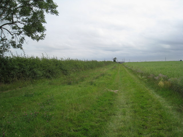 Footpath to Crook Mill Road