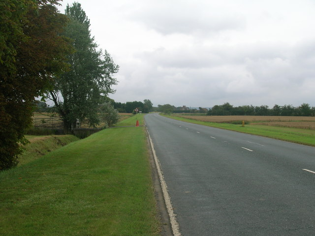 A161 towards Crowle